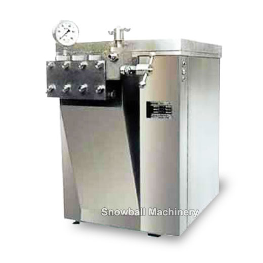 ice cream homogenization machine