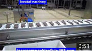 ice cream packaging machine for extrusion line