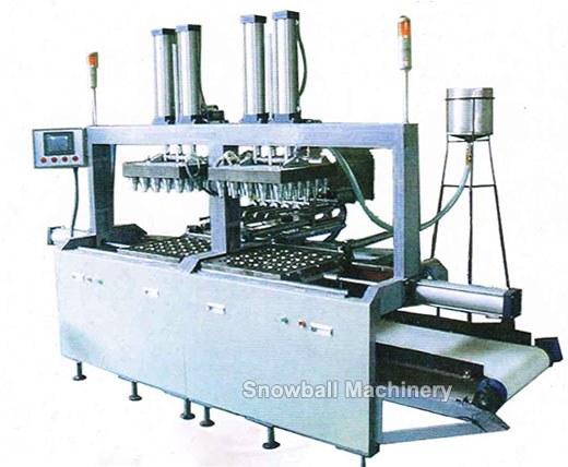 Molded ice cream wafer cone making machine