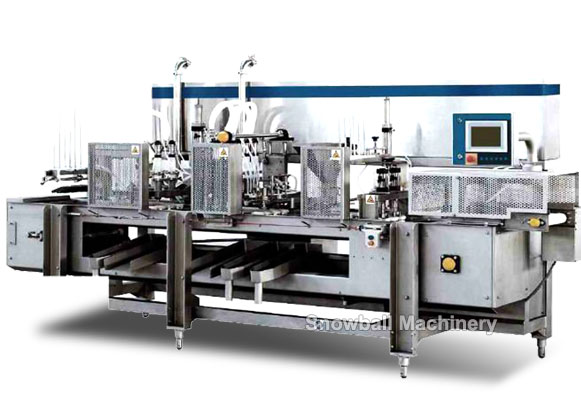 ice cream callipo tube filling machine