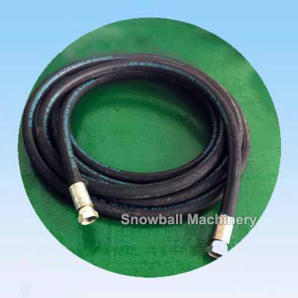 Air hose for dry ice cleaning machine