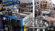 Video of Ice Pop Paper Tube Making Machine