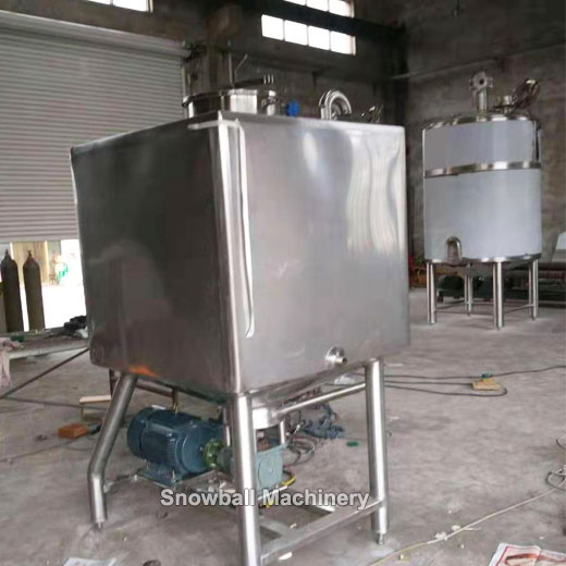 high shear mixer for ice cream plant, ice cream high speed mixer, industrial ice cream machine