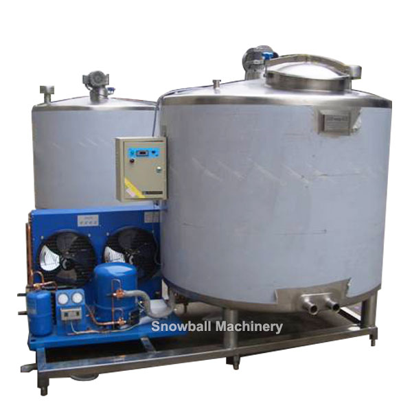 self cooling ice cream ageing tank machine, ice cream mix preparation equipment