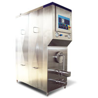 1000L, 2000L continue ice cream freezer
