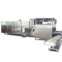 ice cream cone baking machine for ice cream plant