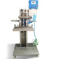 family pack ice cream filling machine