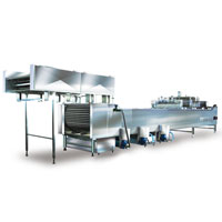 Ice cream stick inserter for stick ice cream machine
