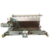 Expanding and melting cart for stick ice cream making machine