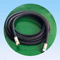 Air hose for dry ice blasting machine