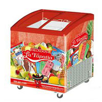 Commercial ice cream display freezer SD205K, CR, UL, ETL