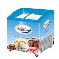 Heigh quality ice cream display freezer SD235K