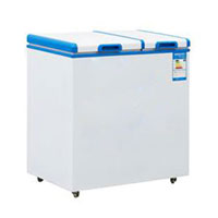 Top open ice cream chest freezer