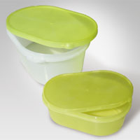 ice cream bowl with lid
