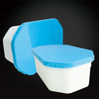 500ml plastic octagonal container