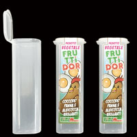 ice cream PP tube, plastic tube