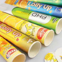 Calippo Tubes, Push Up Paper Tubes For Sale