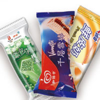 ice pop package, ice pop packaging film