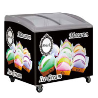 100-350L ice cream freezer
