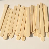 Ice popsicle bamboo sticks