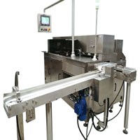 Automatic wax paper ice cream packaging machine