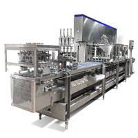 Linear Ice Cream Filling Machine