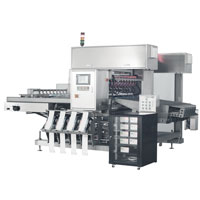 multi lane ice cream packing machine, multi lane wrapping machine
