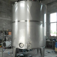 3000L ageing tank machine for ice cream plant