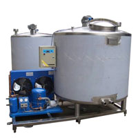 self cooling ice cream ageing tank machine, ice cream mix preparation equipment, ice cream aging tank self cooling