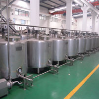 2000L aging tank machine, ice cream ageing tank machine, ice cream mix preparation equipment