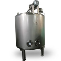 600 liters ice cream aging tank, ice cream pro mix plant