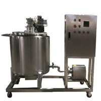 chocolate temperature control tank, chocolate tank, ice cream tank
