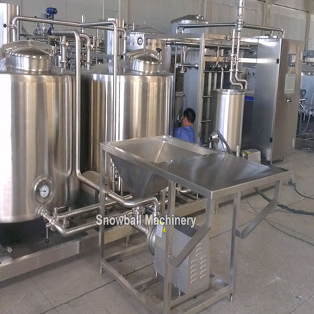 2000L ice cream mixer machine, ice cream mixworking plant, ice cream mixing machine