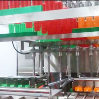 Popsicle ice cream production line, ice lolly making machines, ice cream plant, industrial ice cream factory